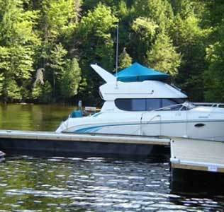 Large pontoon floats for boat houses  commercial docks marinas large boats
